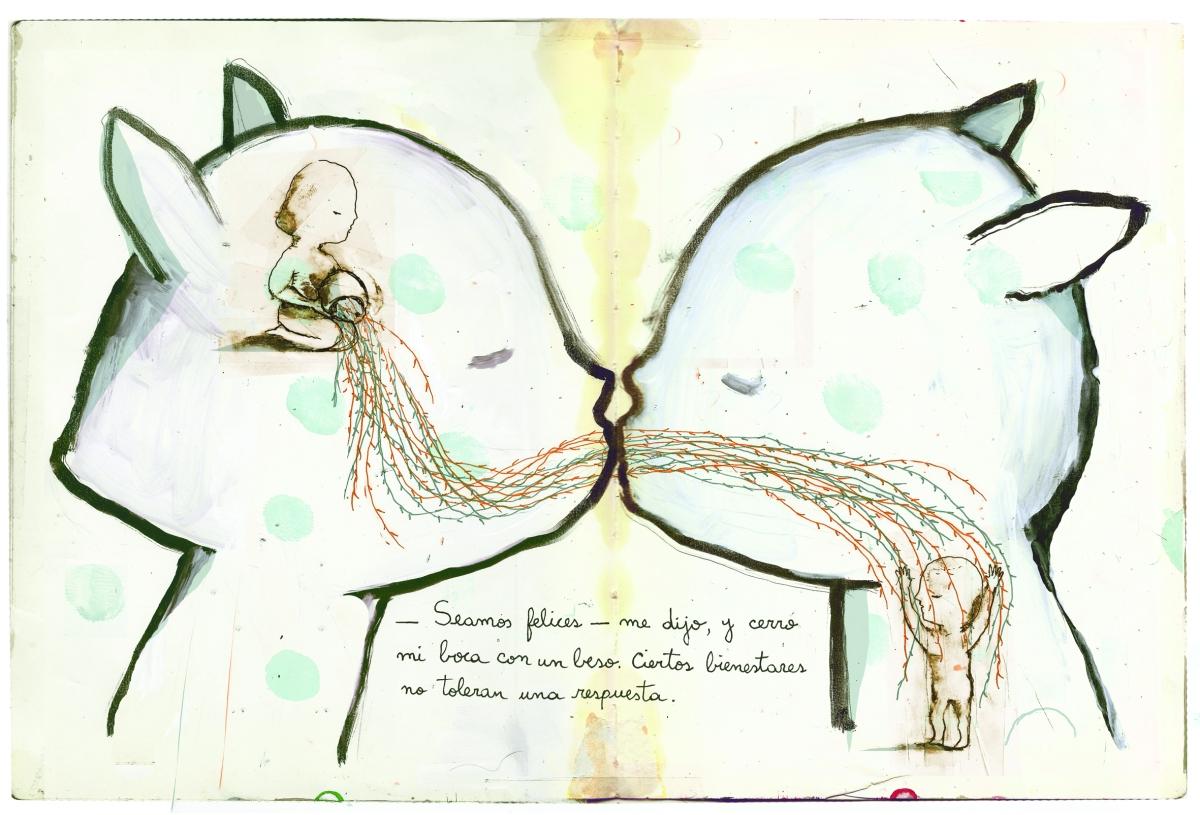 La ilustración de untopo