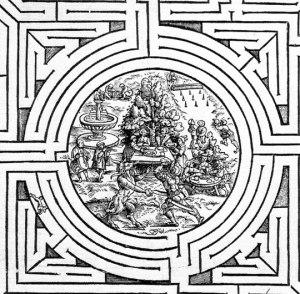 Laberinto cretense anónimo (1550 a.c.)