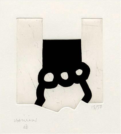 Bikaina XIII (1987), por Eduardo Chillida